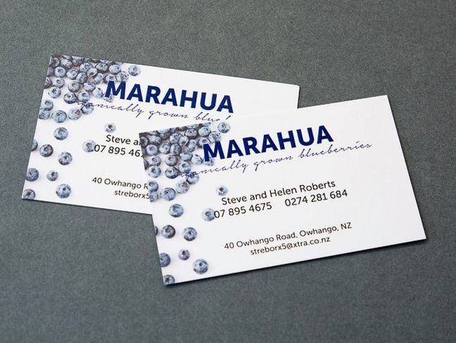 colour digitally printed business cards marahua